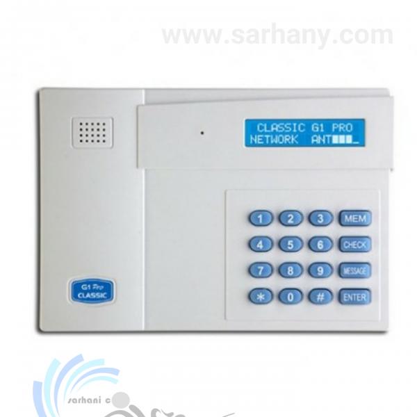تلفن کننده سیم کارتی G1 هم برای خط ثابت و هم با سیم کارت کار می کند. شرکت سرحانی ایمن ارائه دهنده در خوزستان این تلفن کننده می باشد.